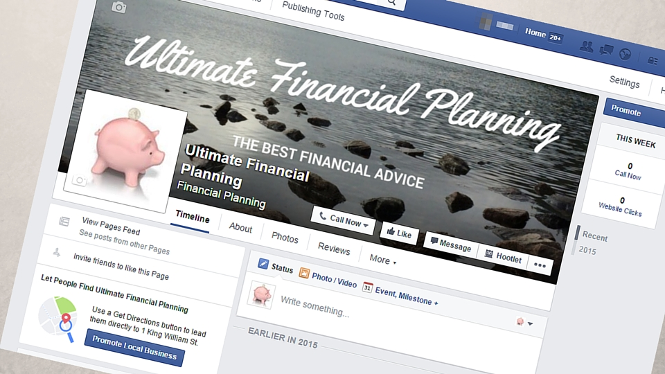 How To Set Up A Facebook Page For Your Financial Planning Business