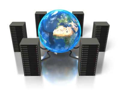 Computer servers for website